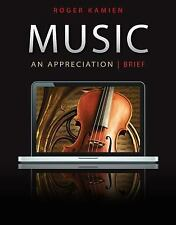 5-CD Set for Music: an Appreciation, Brief Edition by Roger Kamien and Kamien (2