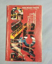 Railroad Train Book: Railroad Facts 1993 Edition Softcover