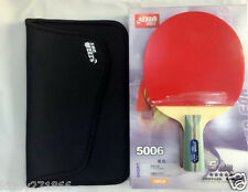 Table Tennis Rackets DHS5006 Double Happiness Paddle Bat 5 Star Short Handle UK