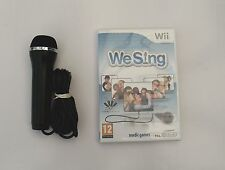 WE SING AND 1 KARAOKE MICROPHONE WII PAL