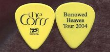 CORRS 2004 Borrowed Heaven Tour Guitar Pick!!! custom concert stage Pick #5