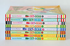 Lot of 8 (#1-8) IVY & BEAN Series Matched Set of Paperback Books Girls Ages 6-10