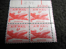 4 US Postage Air Mail 6 Cents MNH C39 81C5