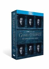 NEW GAME OF THRONES SEASON 6 SIX BLU RAY COMPLETE SET BLU-RAY