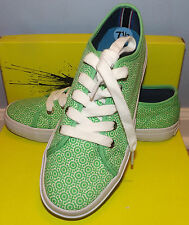 Tommy Hilfiger Rainey Lime Green Fashion Sneakers Size 7.5
