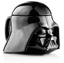 Star Wars Mug - Darth Vader Helmet 3D Ceramic Coffee and Drink Mug with Remov...