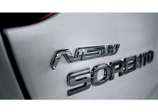 3D New Logo Emblem 1pc Metal chrome type For 13 Kia New Sorento 2013