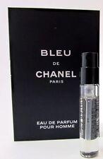 Bleu de Chanel EDP Eau de Parfum Pour Homme Spray Sample Vial .06 oz 2 ml