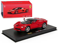 FERRARI LAFERRARI RED SIGNATURE SERIES 1/43 DIECAST MODEL BY BBURAGO 36902