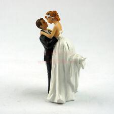 Wedding GIFT Couple Groom Lifting Bride Resin Cake Topper EKT0140 S#