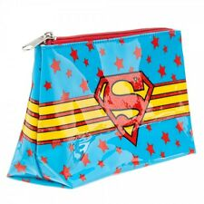 BRAND NEW & LICENSED SUPERGIRL TOILETRY COSMETIC BAG/CARRY PURSE