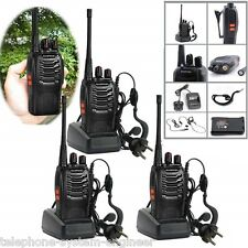 3pcs Baofeng Walkie Talkie UHF 400-470MHZ 2-Way Radio 16CH 5W BF-888S Long Range