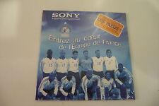 ENTREZ AU COEUR DE L'EQUIPE DE FRANCE DE FOOTBALL.ZIDANE THURAM HENRY  PIRES..