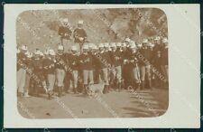 Imperia Porto Maurizio XVI Regg Fanteria Militari Foto cartolina QT7868