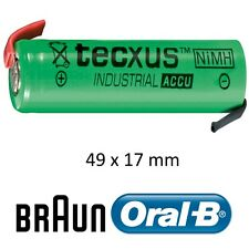 BRAUN Batterie NiMh 49x17mm NiMH  2100mAh ORAL-B PROFESSIONNEL CARE BATTERY