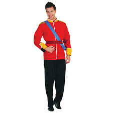 Mens Adult Costume Royal Prince William Fancy Dress Stag Party Outfit