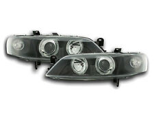 Vauxhall / Opel Vectra B 1999-2002 Black Angel Eyes Headlights Pair LHD/RHD
