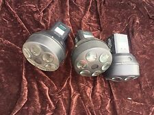 AMERICAN DJ MYSTIC LED STAGE LIGHT. WORKS GREAT. 6 LIGHT. Lot Of 3