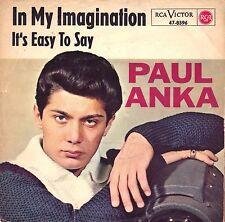 """7"""" Paul Anka – In My Imagination // Rare Germany 1964"""