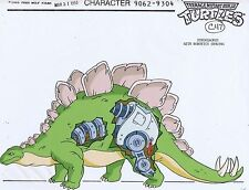 Teenage Mutant Ninja Turtles Animation Production STEGOSAURUS Model Cel #A0350
