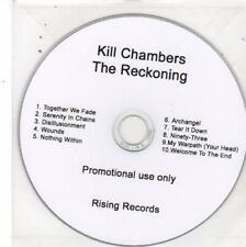 (BW658) Kill Chambers, The Reckoning - DJ CD
