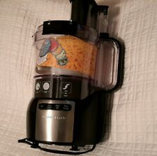 Hamilton Beach Stack&Snap 10 cup Food Processor