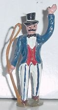 TIMPO TOYS Lead Circus Series, Ring Master w/Whip, 54mm Britains, Reproduction
