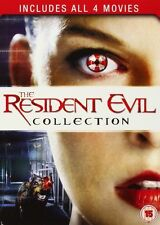 RESIDENT EVIL - COLLECTION 1 2 3 4 Quadrilogy Movies Boxset (NEW DVD)