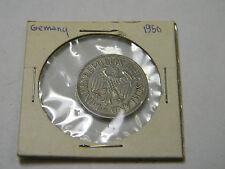 1950 Germany 1 Deutsche Mark G Bundesrepublik Deutschland Coin