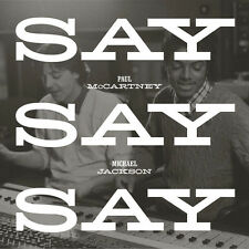 "PAUL MCCARTNEY + MICHAEL JACKSON 'SAY SAY SAY' 2015 12"" VINYL - LIMITED EDITION"