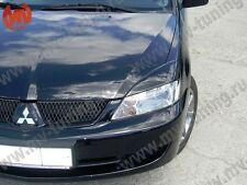 Mv-Tuning Front Eyelids Eyebrows Headlights Wide Covers Mitsubishi Lancer IX 9