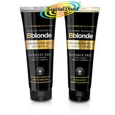 Jerome Russell Bblonde COLOUR PROTECT Sulphate Free SHAMPOO & CONDITIONER 250ml