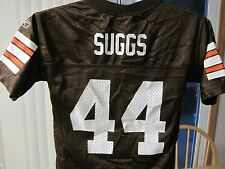 Lee Suggs #44 Cleveland Browns Youth Medium Reebok NFL Jersey EUC Free Shipping