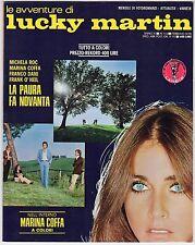 fotoromanzo LE AVVENTURE DI LUCKY MARTIN ANNO 1978 NUMERO 113 COFFA DANI O' NEIL