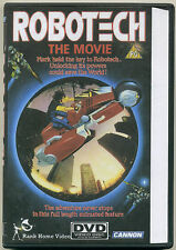 ROBOTECH THE MOVIE; 2010 DVD DVD-R; Region 0 Cannon