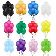 "10-100 x 10"" Latex RED BALLOONS PARTY EVERY OCCASION  BALOONS HEAVY DUTY BALLOON"