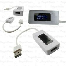 USB LCD Voltage Current Detector Mobile Battery Power Charger Tester Meter