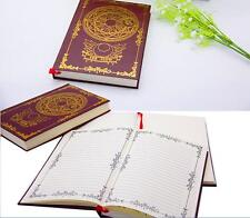 Japan Anime Cardcaptor Sakura THE CLOW Notebook Diary Book Magic Cosplay Vintage