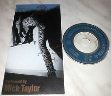 "CD MICK TAYLOR - LAUNDROMAT BLUES - FXD-5029 - JAPAN 3"" INCH - SINGLE"