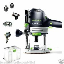 PLUNGE ROUTER FESTOOL OF 1400 EBQ PLUS 574341 574346 ENRUTAMIENTO DE SISTEMA DE