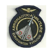 [Patch] EUROFIGHTER TYPHOON PICCOLA AERONAUTICA MILITARE cm 5 x 6 ricamo -304