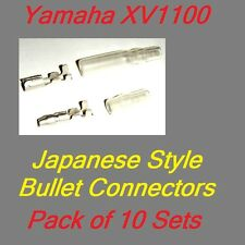 Old School Style Bullet Electrical connectors (ten sets) - Yamaha XV1100