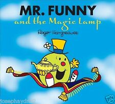 NEW sparkly MR FUNNY and the MAGIC LAMP (BUY 5 GET 1 FREE book Little Miss Men
