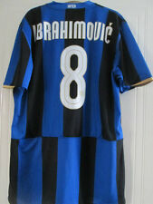 Inter Milan 2008-2009 Ibrahimovic 8 Home Football Shirt Size XL /39098