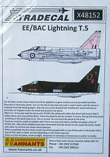 Xtradecal 1/48 X48152 English Electric Lightning T.5