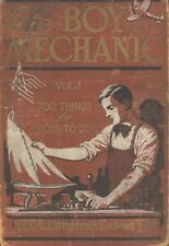 The Boy Mechanic, Mechanical, Electrical, Things for Boys to Do - 3 Books on CD