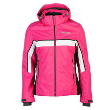 Nevica Kiara Ski Jacket Coat Detachable Hood Black Rose Size 10 UK  £129.99