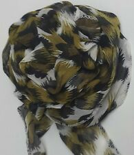 Combat Leopard Clip Scarf, Multi Wear Scarf. Watch YouTube Video. Mother's Day