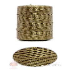 Khaki 77 Yds. Super-Lon #18 Beading Crafting Stringing Crochet Cord