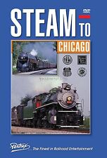 STEAM TO CHICAGO NEW PENTREX DVD VIDEO 1993 HRHS CONVENTION